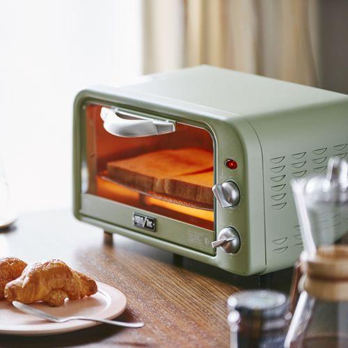 ハイパワー230℃レトロ調ベーカリートースター