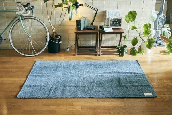 インド綿100% ラグマット「Orne(オルネ)」110×160cm
