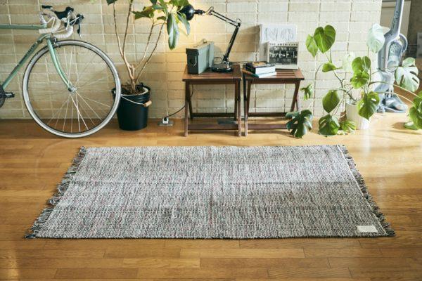 インド綿100% ラグマット「Dusk(ダスク)」110×160cm