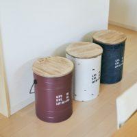 ドラム缶風ボックススツール「タブレビドン」