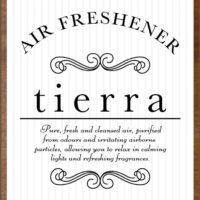 アンティーク調空気洗浄機「tierra (ティエラ)」