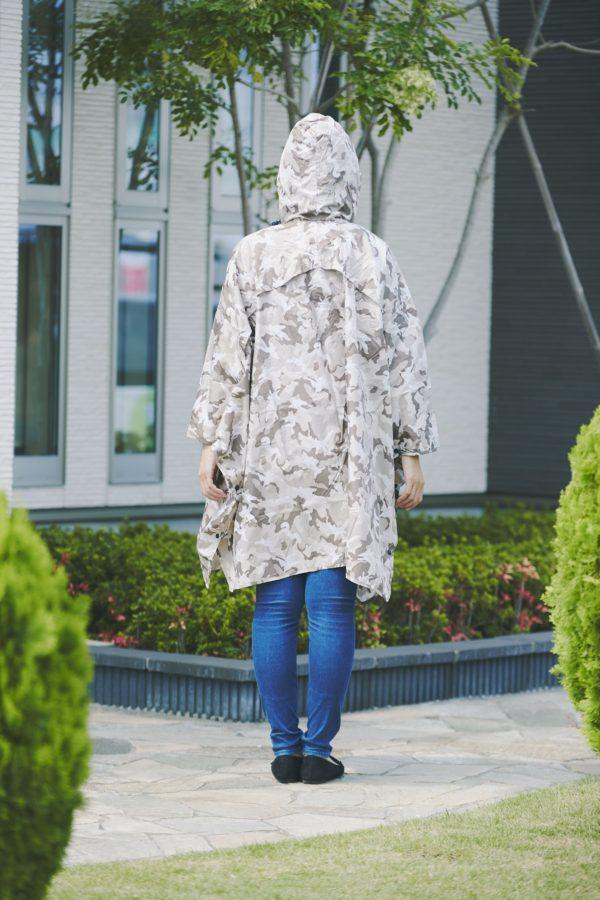 Niar レインポンチョ 「Camouflage(カモフラージュ)」