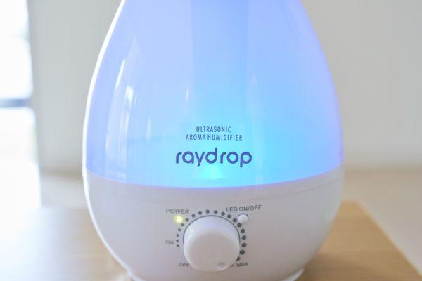 超音波アロマLED加湿器 「Ray Drop(レイドロップ)」 2.4L