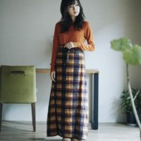 巻きスカート型2WAYブランケット