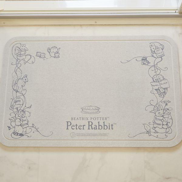 珪藻土バスマット「PETER RABBIT(ピーターラビット)」