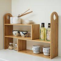 竹製キッチンマルチスパイスラック