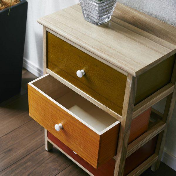 木製チェスト 3段/4段「armadio」