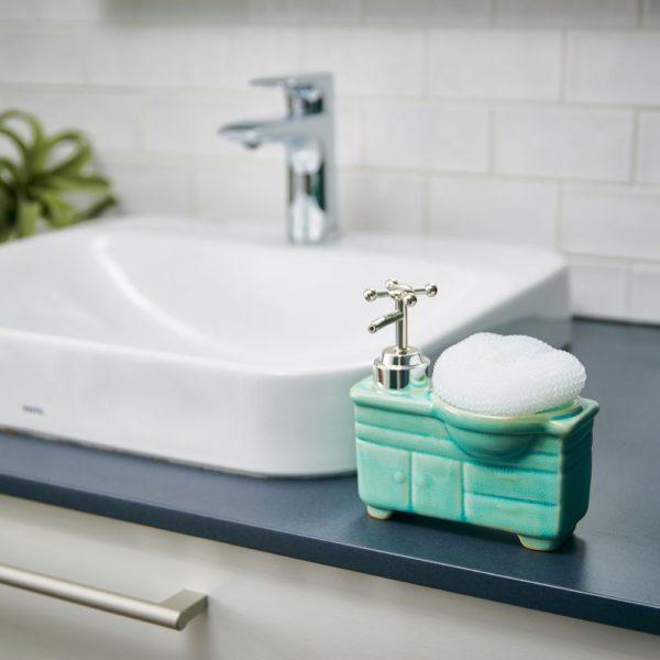 ソープディスペンサー「 bathroom sink(バスルームシンク)」