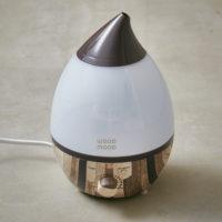 アロマ超音波加湿器「Wood mood(ウッドムード)」