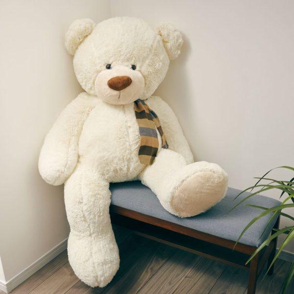 140cm お座りクマのぬいぐるみ