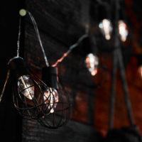 ソーラー充電式ガーランドライト<br> Antique アンティーク