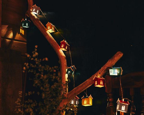 【販売終了】ソーラー充電式ガーランドライト Home's(ホームズ)