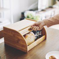 La Cuisine 竹製ブレッドケース EF-LC05