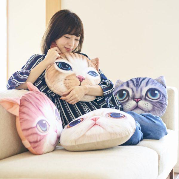 モチーフクッション「Koira&Kissa(コイラキッサ)」