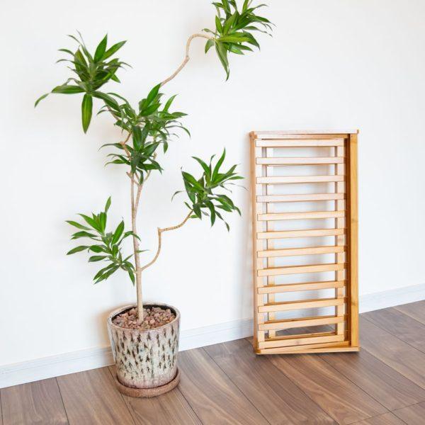 竹製折りたたみマルチラック