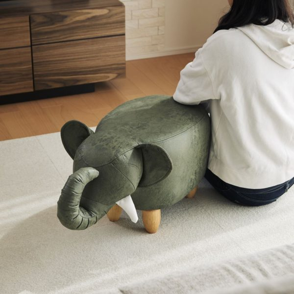 アニマルモチーフのスツール Elephant(エレファント)