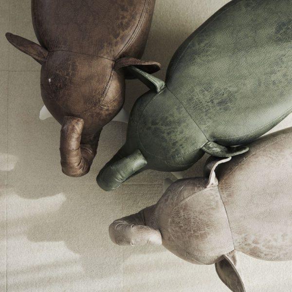 アニマルモチーフのスツール Elephant エレファント