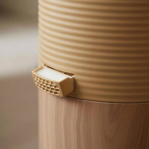 WOOD MOOD タワー型上部給水超音波加湿器