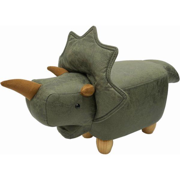 恐竜モチーフのスツール Triceratops Jr.(トリケラトプスジュニア)